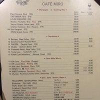 Photo taken at Cafe Miro by Malia H. on 12/10/2016
