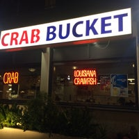 Photo taken at Crab Bucket by Malia H. on 3/27/2015