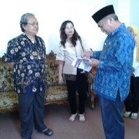 Photo taken at Kantor Bupati Lombok Utara by Arum M. on 6/27/2013
