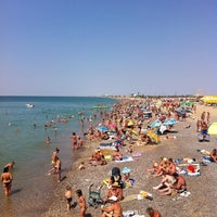 Photo taken at Пляж Новофедоровки by Zunygun on 8/25/2013
