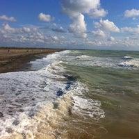 Photo taken at Пляж Новофедоровки by Zunygun on 9/20/2013