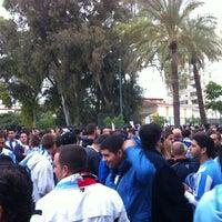 Photo taken at Aledaños de la Rosaleda by Rocio Q. on 10/24/2012