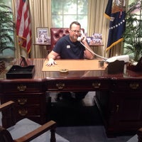 Photo taken at The Oval Office by Chris D. on 1/18/2015