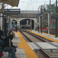 Photo taken at North Avenue Light Rail Station by RAC on 10/15/2012
