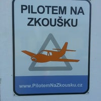 Photo taken at Pilot on Trial - Sightseeing flights / Pilotem na zkoušku - vyhlídkové lety by Vojtěch N. on 6/18/2013