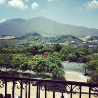 Photo taken at Bishuiwan Hot Spring Holiday Inn Resort by Masha W. on 8/5/2013
