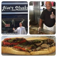 Photo taken at Jim's Steaks by Craig R. on 8/13/2015