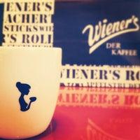 Photo taken at Wiener's Tea&Coffee Lounge by Tuba K. on 1/14/2014
