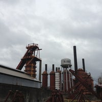Photo taken at Sloss Furnaces National Historic Landmark by Samantha J. on 2/10/2013