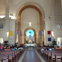 Photo taken at Santuario de la Virgen de Caacupé by Sacoleiro on 12/15/2012