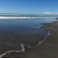 Photo taken at Tatapouri by the Sea by Shawn Q. on 3/19/2014