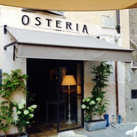 Photo taken at Osteria Gabriele by Maarten H. on 7/20/2014