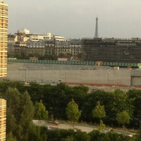 Photo taken at Ibis Berthier Porte de Clichy by Alexandra H. on 7/18/2013