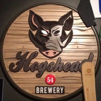 Photo taken at Hogshead Brewery by Andy B. on 2/10/2014