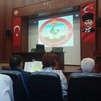 Photo taken at Ahmet Cevdet Paşa Toplantı Salonu by 💍Ali Nurhan G. on 10/1/2014