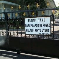 Photo taken at Istana Kepresidenan Cipanas by Meilyska P. on 9/11/2015