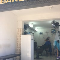 Photo taken at Barbearia do Ronaldo by Nicolau A. on 8/2/2013