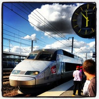 Photo taken at Gare SNCF de TGV Haute-Picardie by Francois O. on 8/12/2013