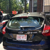 Photo taken at Zipcar Queensberry St/Park Dr by Zhaoxia L. on 8/11/2013