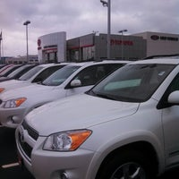 Photo taken at Luther Brookdale Toyota by Dave R. on 6/22/2013