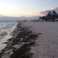 Photo taken at Playa Posada by Ekaterina M. on 2/27/2014