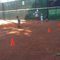 Photo taken at Lawn Tennis Club by Яна К. on 8/16/2014