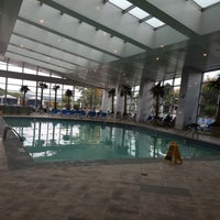 Photo taken at Mohegan Sun Pool by Nomi E. on 9/30/2014