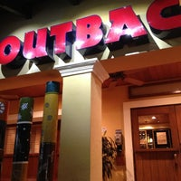 Photo taken at Outback Steakhouse by Paulina T. on 4/2/2013