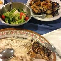 Photo taken at Zephyros Fish Tavern by Valeria on 8/29/2013