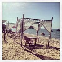 Photo taken at Bophut Beach by Kate D. on 6/29/2013