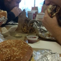 Photo taken at Five Guys by Roy W. on 2/4/2014