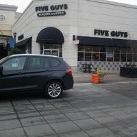 Photo taken at Five Guys by Gannon H. on 1/28/2013