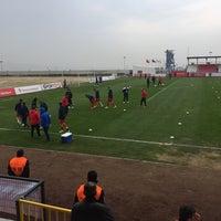 Photo taken at Ümraniye İlçe Stadı by Burak M. on 3/26/2017