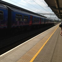Photo taken at Luton Airport Parkway Railway Station (LTN) by Robert on 7/8/2013