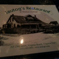 Photo taken at Tautog's Restaurant by Sarah B. on 7/15/2013