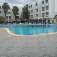 Photo taken at Tunisia Lodge Hotel Hammamet by Sikili K. on 6/30/2013