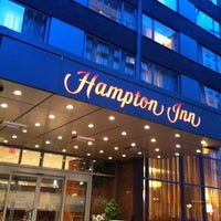 Photo taken at Hampton Inn Manhattan - Times Square North by Min A. on 7/23/2012