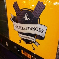 Photo taken at Wafels & Dinges - Herald Square by Alex S. on 4/7/2012
