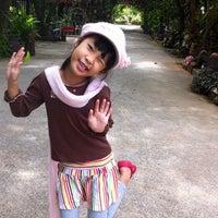 Photo taken at สวนอาหารบ้านล้อเกวียนรีสอร์ท by Kittiya B. on 12/30/2012