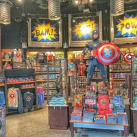 Photo taken at Marvel Superhero Island Arcade by Joseph B. on 1/21/2017