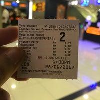 Photo taken at Golden Screen Cinemas (GSC) by Huzaifah A. on 6/28/2017