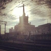 Photo taken at Пригородный вокзал by Alenka P. on 8/6/2013