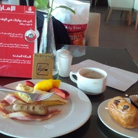 Photo taken at The Emirates Lounge by Gary B. on 2/16/2015
