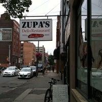 Photo taken at Zupa's Restaurant & Deli by Ari L. on 6/28/2013
