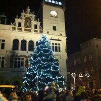 Photo taken at Masarykovo náměstí by Zdenča C. on 12/1/2013