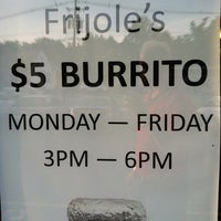 Photo taken at Frijole Mexican Grill by J J. on 6/25/2013