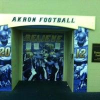 Photo taken at University of Akron by Randy T. on 6/20/2013