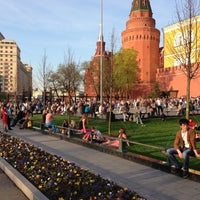 Photo taken at Aleksandrovskiy Garden by Denis P. on 5/9/2013