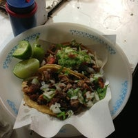 Photo taken at Tacos Don George by Jorge T. on 9/12/2013