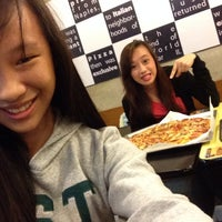 Photo taken at Yellow Cab Pizza Co. by Kim Claudette F. on 8/4/2014